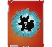 Who's that Pokemon - Wartortle iPad Case/Skin