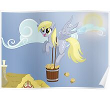 Derpy's delivery Poster