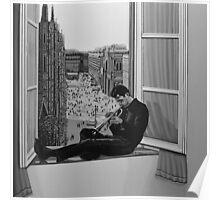 Chet Baker painting Poster