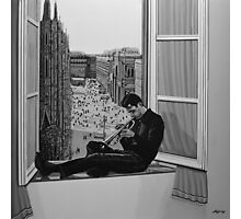 Chet Baker painting Photographic Print