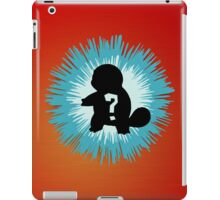 Who's that Pokemon - Squirtle iPad Case/Skin
