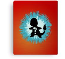 Who's that Pokemon - Charmander Canvas Print