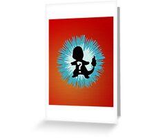 Who's that Pokemon - Charmander Greeting Card