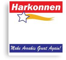 Baron Harkonnen for President Canvas Print