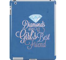 Diamonds Are A Girl's Best Friend iPad Case/Skin