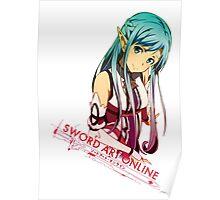 Sword Art Online Asuna (GGO) Poster
