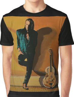 Chris Whitley painting Graphic T-Shirt