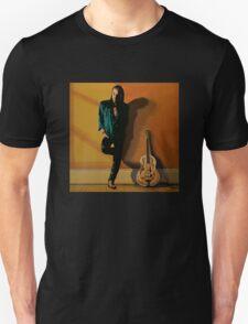 Chris Whitley painting Unisex T-Shirt