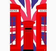 LONDON TELEPHONE BOX and POST BOX Unisex T-Shirt