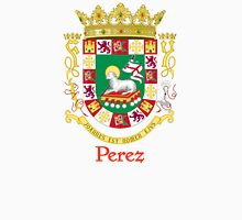 Perez Shield of Puerto Rico Unisex T-Shirt