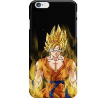 Super sayen iPhone Case/Skin