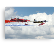Reds Arrows with XH558 Canvas Print