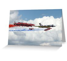 Reds Arrows with XH558 Greeting Card