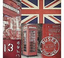 Very british Photographic Print