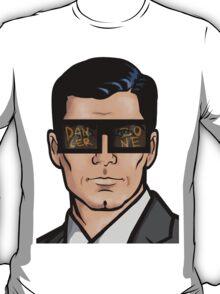Archer & The Danger Zone Sunglasses T-Shirt