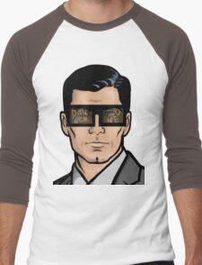 Archer & The Danger Zone Sunglasses Men's Baseball ¾ T-Shirt