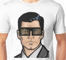 Archer & The Danger Zone Sunglasses Unisex T-Shirt