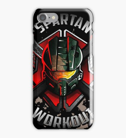 Spartan Workout iPhone Case/Skin