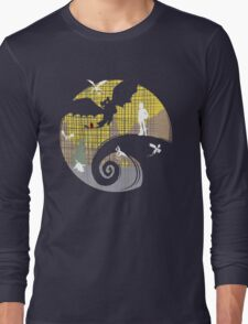 Toothless Nightmare3 Long Sleeve T-Shirt