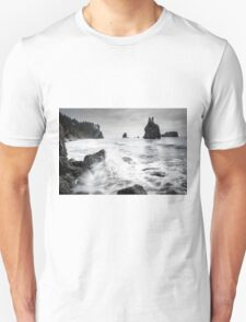 Waves - Olympic National Park Unisex T-Shirt