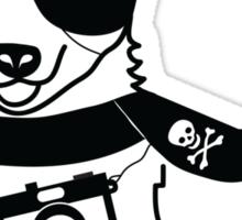 Hipster Corgi - Cute Dog Cartoon Character - Corgis Rule Sticker