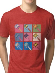 Pop Paintbrush Tri-blend T-Shirt