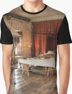 Royal Bedroom within the Tower Fortress Graphic T-Shirt