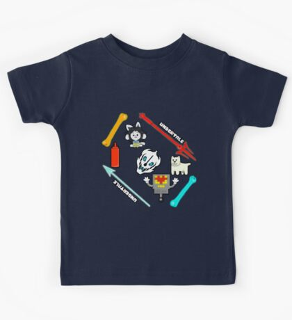 Undertale all you can remember Kids Tee