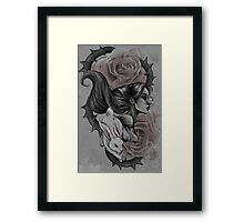 Roses Red Framed Print