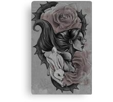 Roses Red Canvas Print