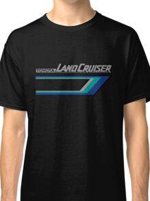 Land Cruiser body art series, blue tri-stripe.  Classic T-Shirt