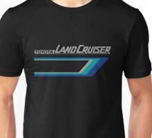 Land Cruiser body art series, blue tri-stripe.  Unisex T-Shirt