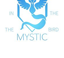 The bird in the north. Team Mystic by Nightmarespoon