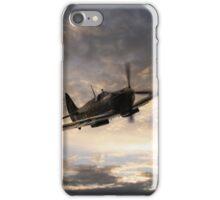 Golden Spitfire iPhone Case/Skin