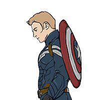 Captain America - Steve Rogers - Marvel Photographic Print