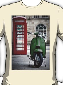Italian Green Lambretta GP Scooter T-Shirt