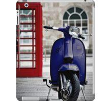 Italian Blue Lambretta GP Scooter iPad Case/Skin