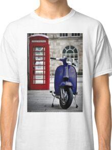 Italian Blue Lambretta GP Scooter Classic T-Shirt