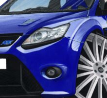Ford Focus RS (Mk2) Blue Sticker