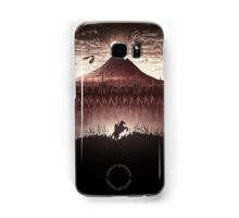 Lord of the Rings - Ring Design Red Samsung Galaxy Case/Skin