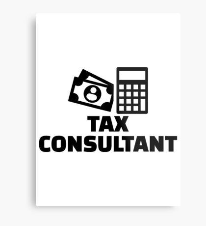 Tax consultant Metal Print