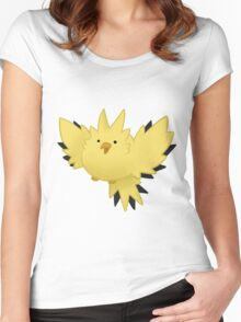 electric borb Women's Fitted Scoop T-Shirt
