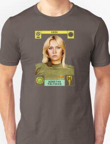 Agnetha Faltskog from Abba retro football team design!~ T-Shirt