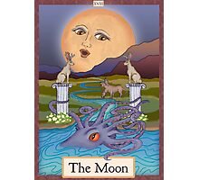 The Moon Card Cryptozoology Tarot  Photographic Print