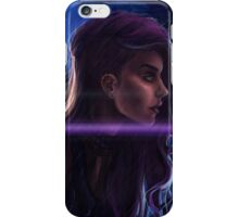 Cybergirl iPhone Case/Skin