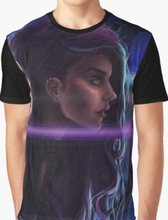 Cybergirl Graphic T-Shirt