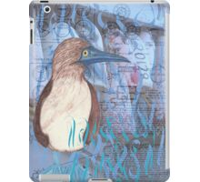 Blue Footed Booby iPad Case/Skin