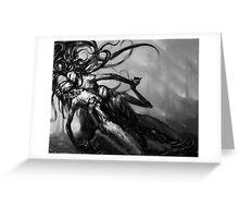 .deprived Greeting Card