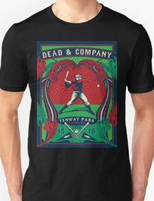 DEAD & COMPANY SUMMER TOUR 2016 FENWAY PARK-BOSTON,MA Unisex T-Shirt