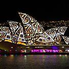 Snake Sails - Sydney Vivid Festival - Australia by Bryan Freeman